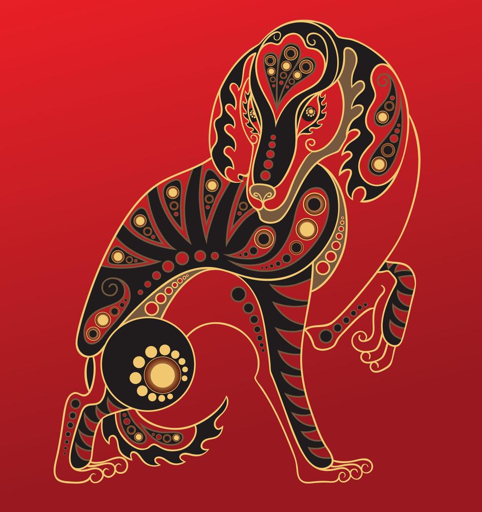 Восточный знак зодиака Собака