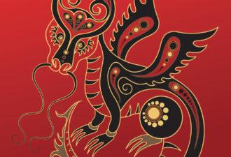 Восточный знак зодиака Дракон