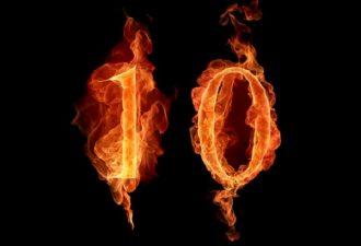 Число десять