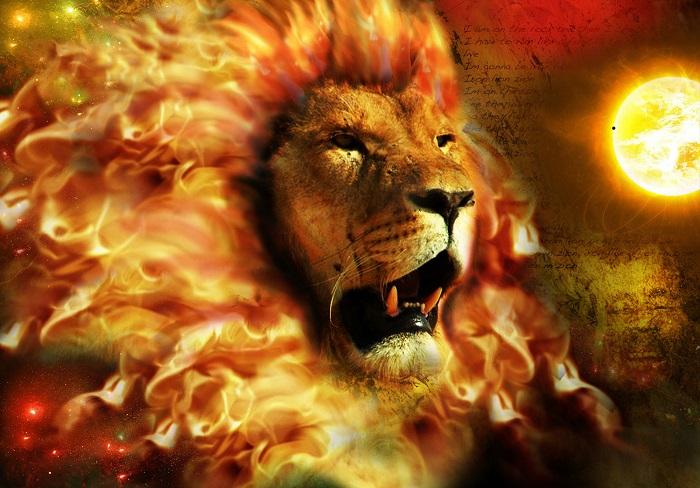 Солнце и Лев