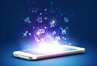 мобильный телефон и знаки Зодиака
