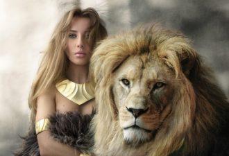 Мужчина Лев и женщина Весы