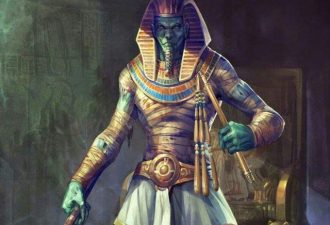 Египетский знак Осирис