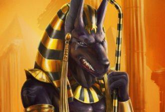 Египетский знак Анубис