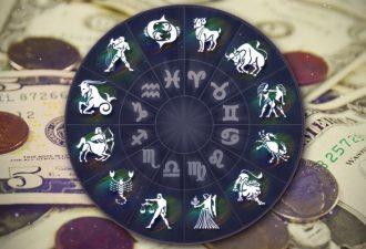 Финансовый гороскоп на месяц апрель