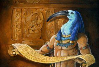 Египетский знак Тот