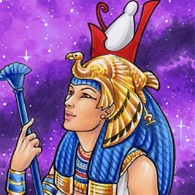 Египетский знак Мут