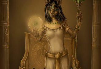 Египетский знак Бастет