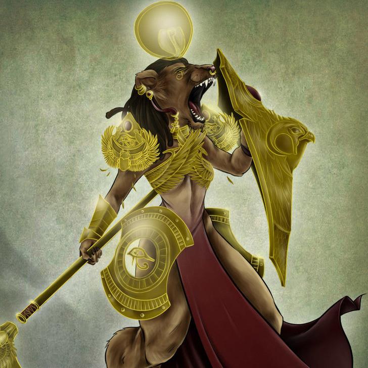 Египетский знак Сехмет